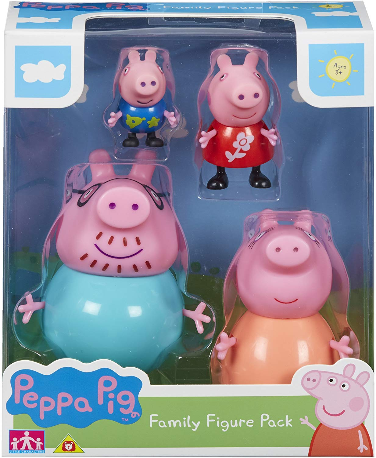 Peppa Pig 06666 Family Figure Pack